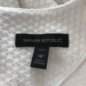Banana Republic Dresses - White Banana Republic fit and flare skirt